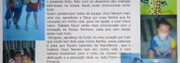 Linda mensagem da vovó Jaqueline Soares