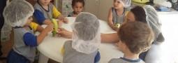Unid.Prado | Aula de culinária – Brigadeiro de banana